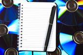 Notepad — Stock Photo