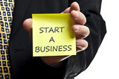 Start a business — Stock Photo