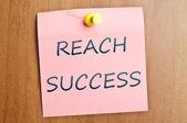 Erfolg zu erreichen — Stockfoto
