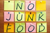No junk food — Stock Photo