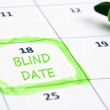 Blind date mark — Stockfoto #6240333