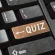 Stock Photo: Quiz key