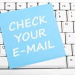 Check e-mail message — Stock Photo #6240456