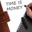 Time is money message — Stock Photo #6240610
