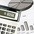 Risk word - Foto de Stock
