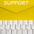 Support message — Stock Photo