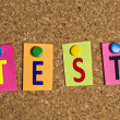 Test word — Stock Photo