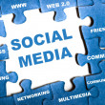 Social media puzzle — Stock Photo #6241255