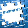Business puzzle — Foto Stock