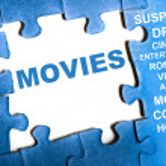 Постер, плакат: Movies puzzle