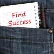 Find success message — Stock Photo #6241680