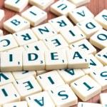 Idea word — Stock Photo