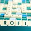 Profit word — Stock Photo
