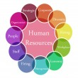 Human Resources — Foto de Stock