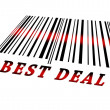 Best deal on barcode — Stock Photo #6242602