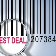 Best Deal on barcode — Stock Photo #6242830