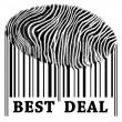 Best Deal on barcode — Stock Photo