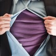 Business super man — Stock Photo