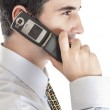 Business man with phone — Stock Photo #6243260