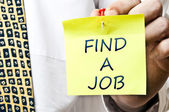 Find a job — Stock Photo