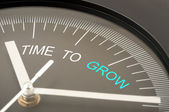 Time to grow — Foto Stock