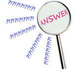 Answer — Stock Photo