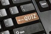 Schlüssel-quiz — Stockfoto