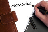 Memories message — Stock Photo