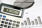 Secure word — Stock Photo