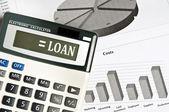 Loan word — Stock Photo