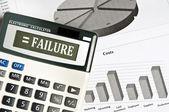 Failure word — Zdjęcie stockowe