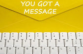 You got message — Stock Photo