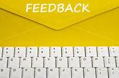 Feedback message — Stock Photo