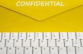 Confidential message — Stock Photo