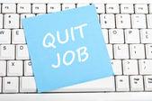 Arrêter message d'emploi — Photo