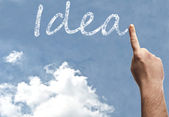 Idea word — Foto de Stock
