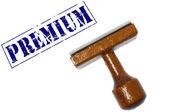 Premium stamp — Stockfoto