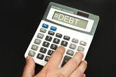 Mot de la dette — Photo