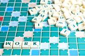 Work word — Stock Photo