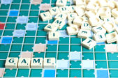 Game word — Stock Photo