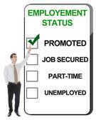 Estado de empleo — Foto de Stock