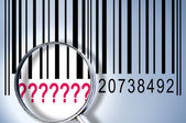 On barcode — Stock Photo