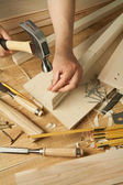Wood working — Stock Photo