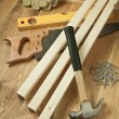 Wood working — Stock Photo