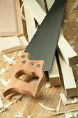 Wood worshop — Stock Photo