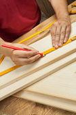 Wood workshop — Stock Photo