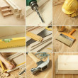 Tools collage - 