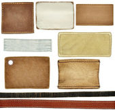 Etichette jeans — Foto Stock