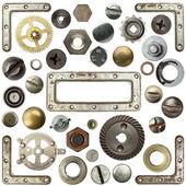 金属的详细信息 — 图库照片