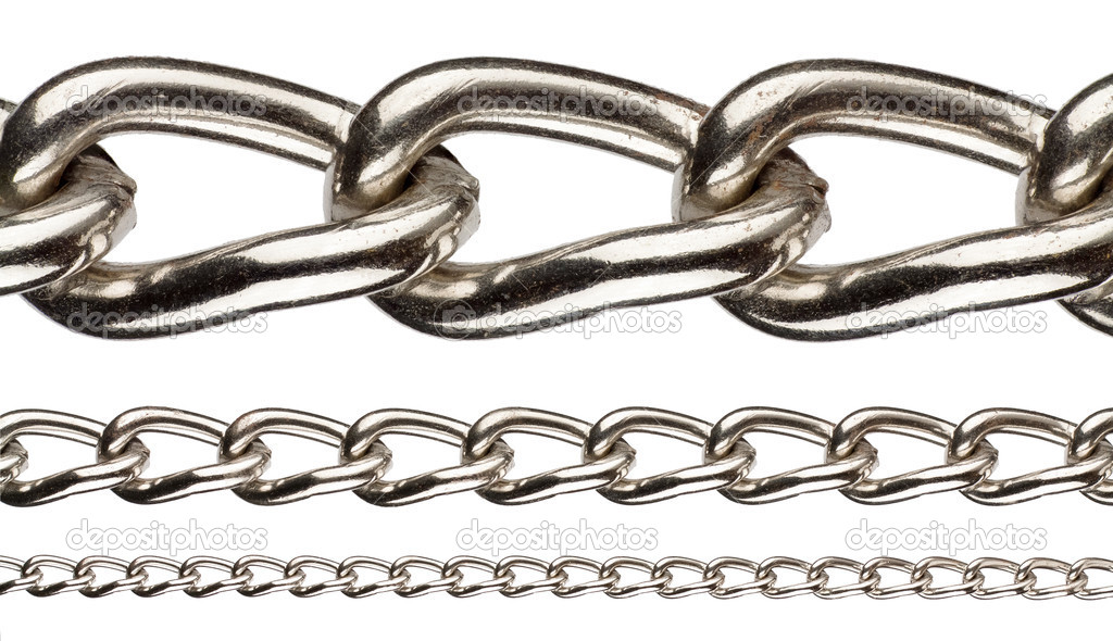 Metal chain on red background-4174 | Stockarch Free Stock Photos